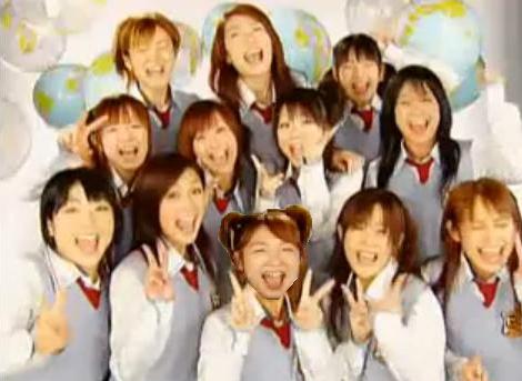 File:Yaguchi Nozomi and Morning Musume.PNG