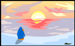 File:Sunset Painting Club Penguin.png