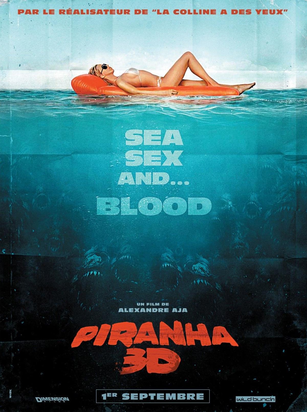 The new movie piranha 3d