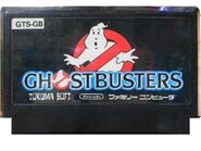 Ghostbusters Famicom Pirate Cart 1