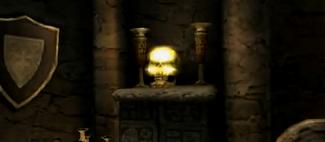 Golden Skull