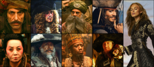 Pirate Lord collage