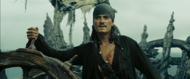 Will as captain of the Dutchman