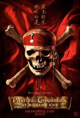 Pirates of the Caribbean- At World's End Teaser Poster