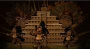 Lego Aztec gods
