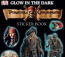 Pirates of the Caribbean Glow-in-the-Dark Sticker Book