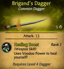 Brigand's Dagger