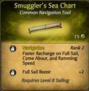 Smuggler's Sea Chart