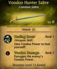 Voodoo Hunter Sabre2