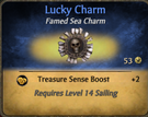 Lucky charm - clearer