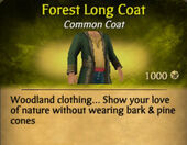 Forest Long Coat