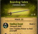 Boarding Sabre