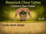 ShamrockChestTat