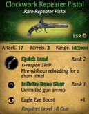 Clockwork Repeater Pistol