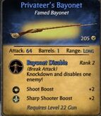 Privateer's Bayonet