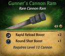Gunner cannon ram