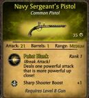 Navy Sergeant's Pistol