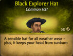 Black Explorer hat 2