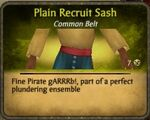 Recruit Sash