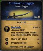 Cutthroat-dagger