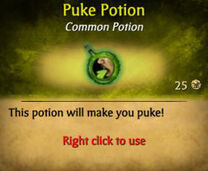 Puking Potion