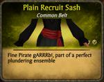 Plain Recruit Sash