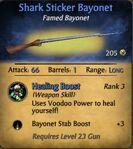 Shark Sticker Bayonet