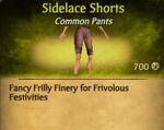 F Sidelace Shorts