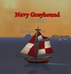 Navy Greyhound clearer
