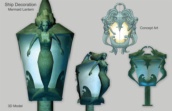 3d potc mermaidlamp large