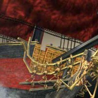The Dreaded Queen Anne's Revenge.