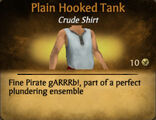 Plain Hooked Tank
