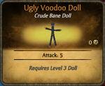 Ugly Voodoo Doll 2010-11-23