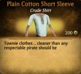 PlainCottonShorSleeve