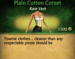 F Cotton Corset variations