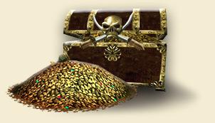 Treasure skull