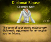 Diplomat blouse
