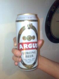 Puszka z piwem Argus Strong