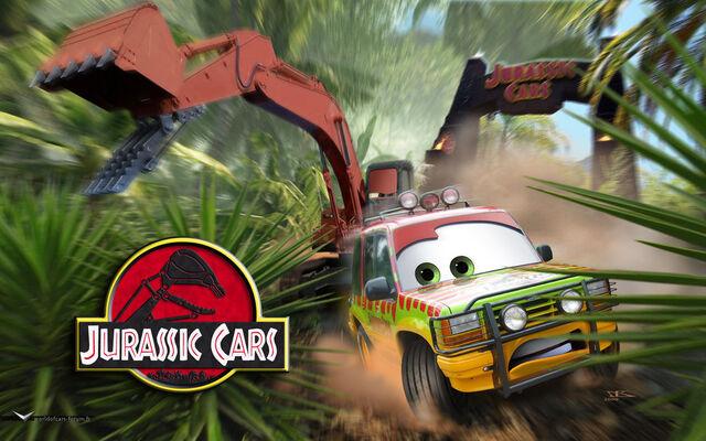 File:Cars Jurassic Cars by danyboz.jpg