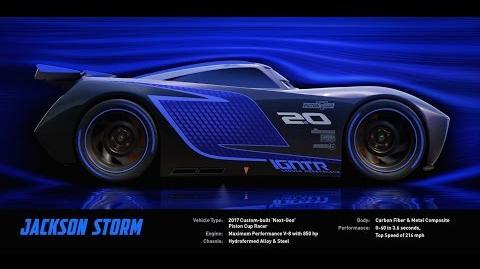 Meet Jackson Storm - Disney Pixar's Cars 3
