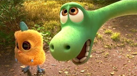THE GOOD DINOSAUR Promo Clip - Halloween Asteroid Reaction