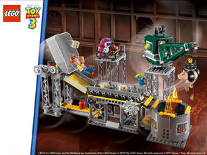 Lego toy story 3 set