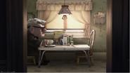 Carl Having Breakfast