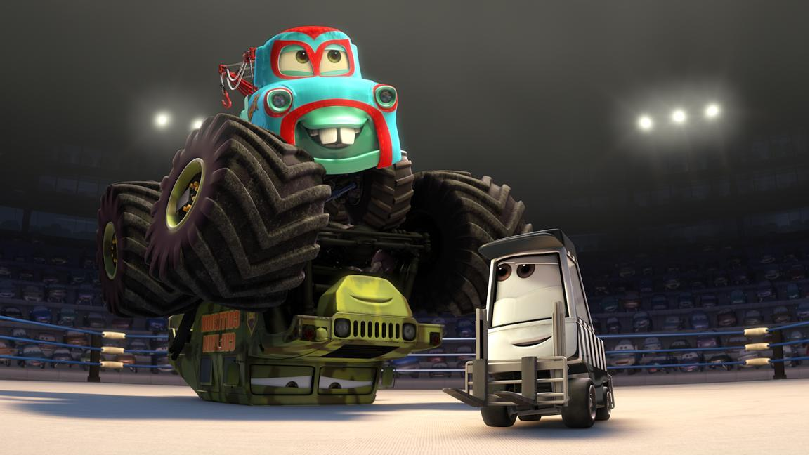 monster truck mater pixar wiki fandom powered by wikia - Monster Truck Mater Coloring Page