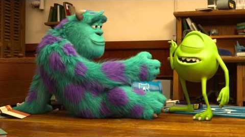 Monsters University Clip - Mike and Sulley meet Official Disney Pixar HD