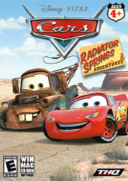 File:Cars - Radiator Springs Adventures Coverart.png