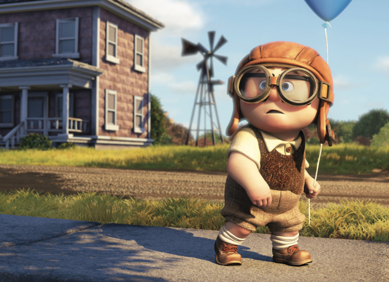 Up Movie Characters Carl