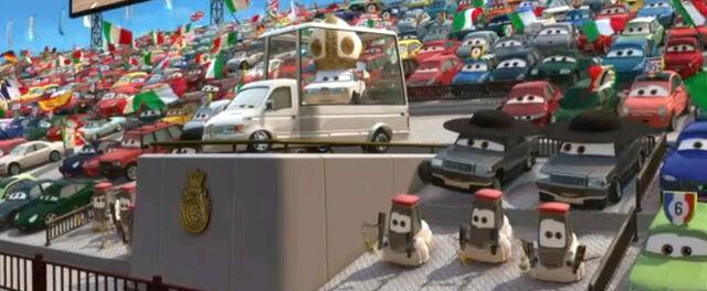 File:Popemobile and pope.JPG