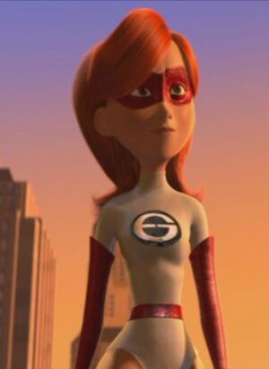 Elastigirl Young Close Up