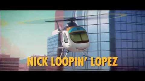Meet the team- Nick Loopin' Lopez! Planes- Fire & Rescue on Blu-ray ™ & Digital HD Nov 4.